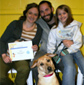 Photos of Obedience Training Class Graduates